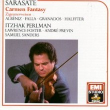 itzhak perlman - spanish violin music - front cover